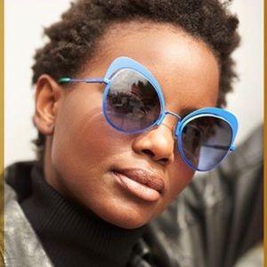 🌊Fendi Sunglasses Cateye FF 0247/S Blue🌊